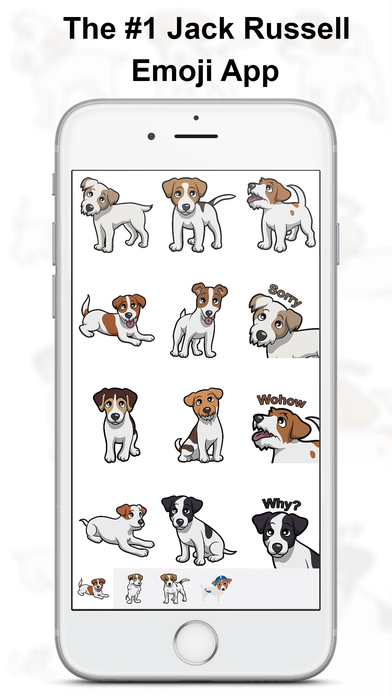 JackMoji - Jack Russell Emoji & Stickers Screenshot 1