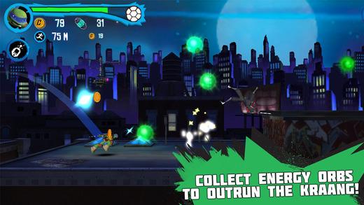 Teenage Mutant Ninja Turtles: Rooftop Run Screenshots