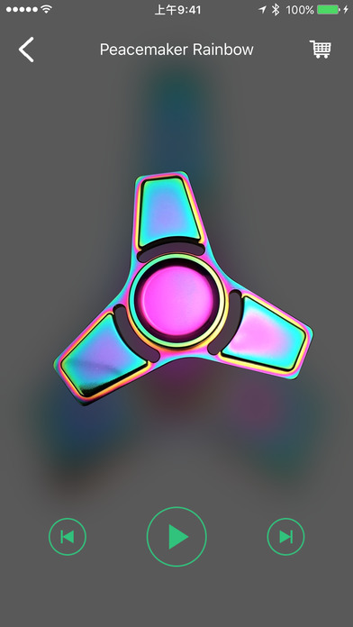 Fidget Spinner - Top Hand Finger Spinner Simulator screenshot 1