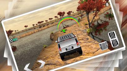 Uphill 4x4 Jeep Driving 3d screenshot 1