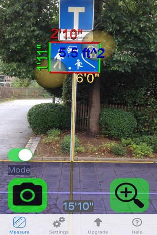 Ruler Camera - Tape Measure 3D screenshot 3
