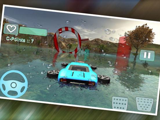 Water Car Stunt Driving Pro screenshot 5