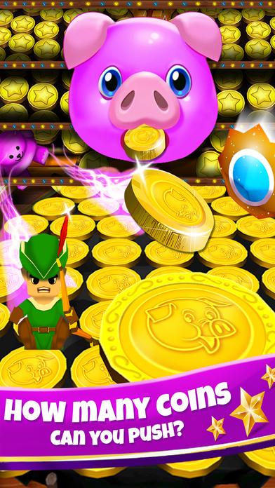 Screenshot 2 свинка Монета толкатель — бульдозер Казино Игры