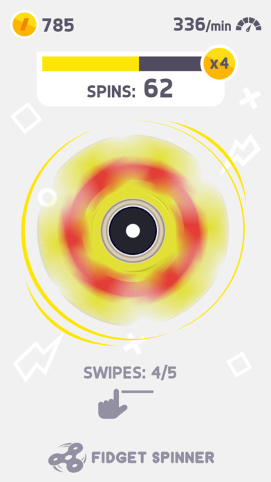Screenshot of Fidget Spinner App