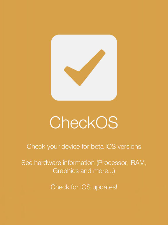 CheckOS - Check Your iOS Compatibility Screenshots
