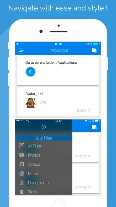 FileStore : Files Manager Screenshots