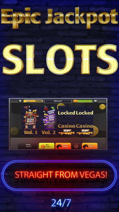 Screenshot 2 Vegas Classic — Epic Jackpot Slot & Casino Games 7