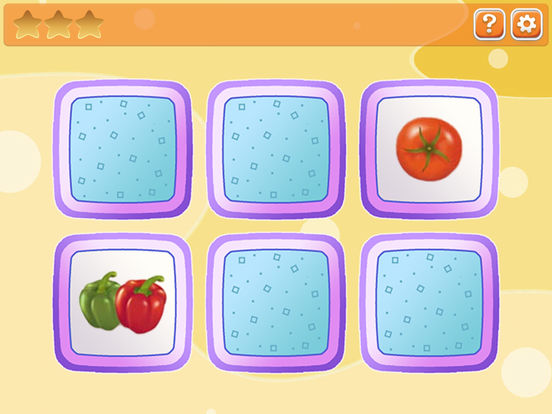 Memory for kids: fruit and vegetables screenshot 6