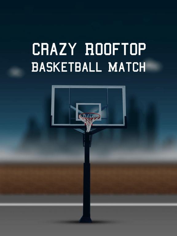 Crazy Rooftop Basketball Match screenshot 6