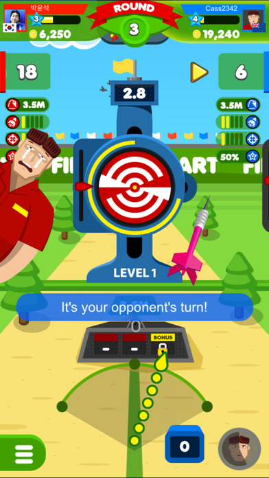 Finger Dart : Casual Dart Online screenshot 3