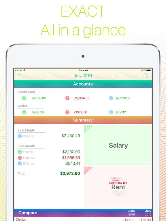 Frugi - Personal finance manager Screenshots
