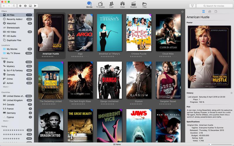 Movie Explorer for Mac 1.8.0 激活版 - 电影资源管理器
