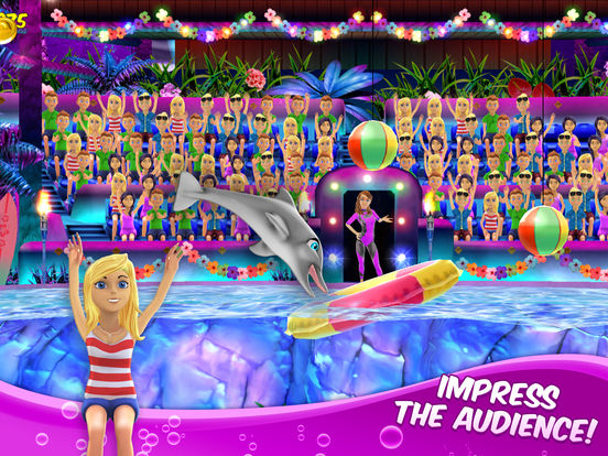 My Dolphin Show: Pet animal game for girls & kidsscreeshot 2