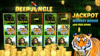 Screenshot 1 Deep Jungle Автоматы