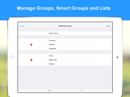 Smart Group: Email, SMS/Text & Contacts Screenshots