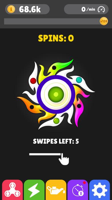 Screenshot 4 Fidget Spinner App-New Tappy Finger hand Simulator