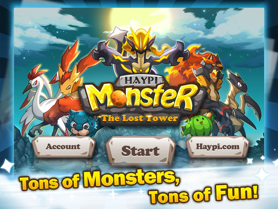 Haypi Monster:The Lost Tower на iPad