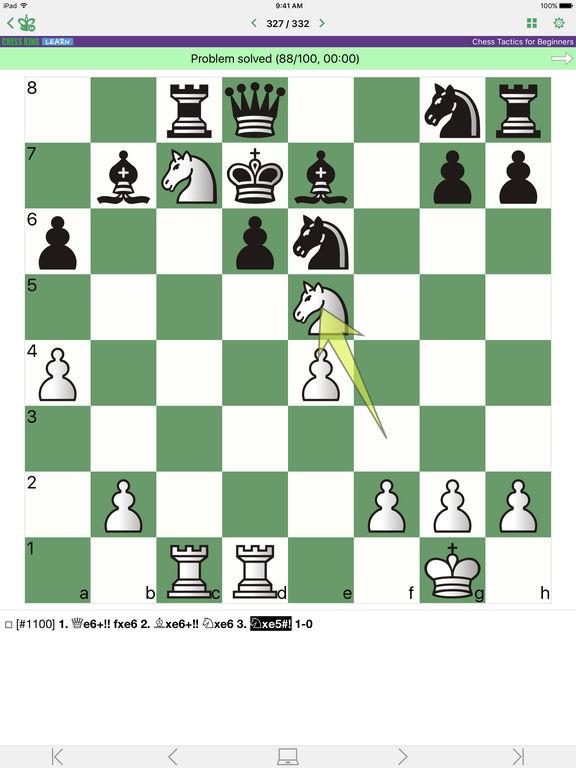 Chess Tactics for Beginnersscreeshot 1