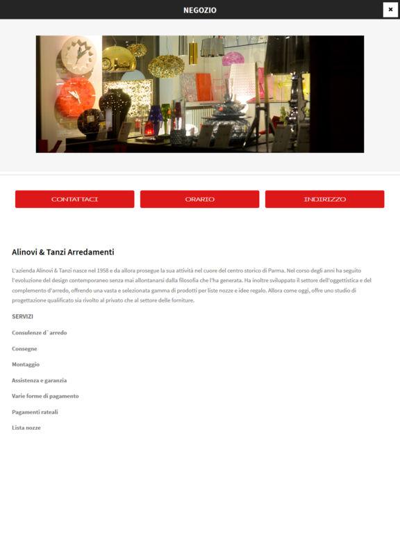 App shopper alinovi e tanzi arredamenti catalogs for Cenedese arredamenti