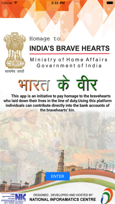 Screenshot for Bharat Ke Veer in India App Store