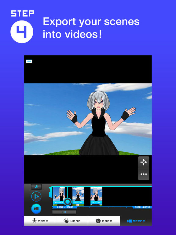 Bot3d Editor 3d Animation Editor On The App Store