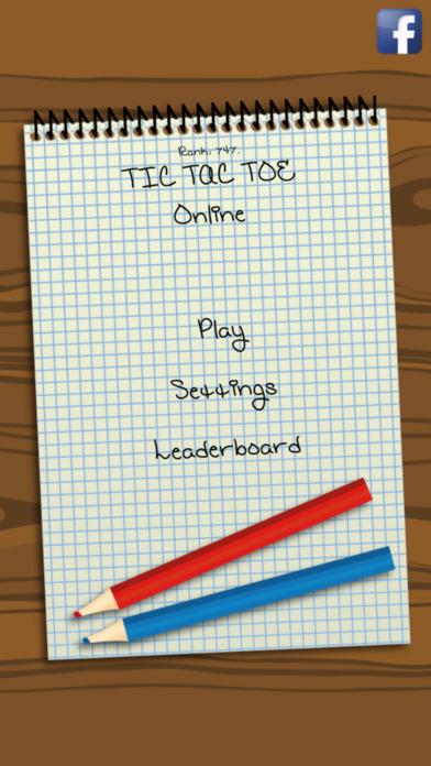 Tic-Tac-Toe Online Screenshot