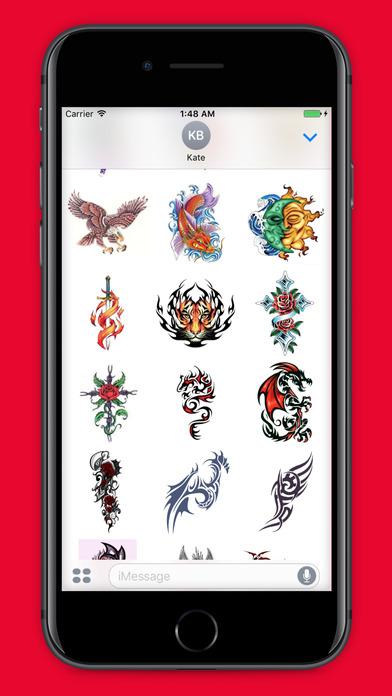 Tattoomoji 100 best tattoo stickers and emojis app for App for tattoos