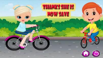 Kids Princes Bicycle Ride screenshot 4