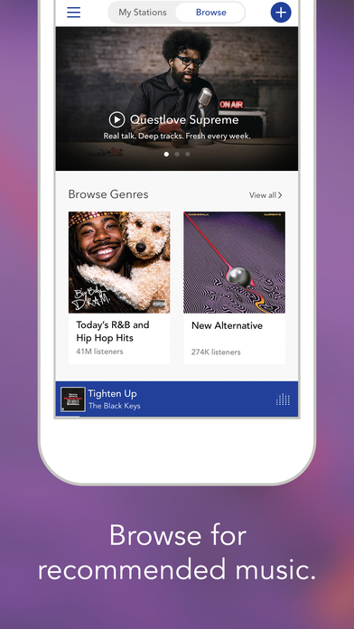 Pandora Radio screenshot 2