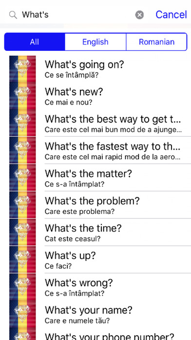 Romanian Phrases Diamond 4K Edition screenshot 2