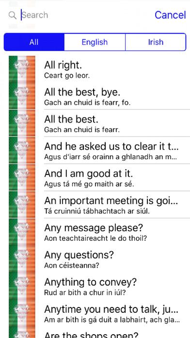 Irish Phrases Diamond 4K Edition screenshot 1