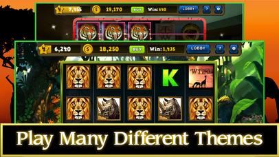 Screenshot 3 Wild Cat Slots Kingdom — Jackpot Casino