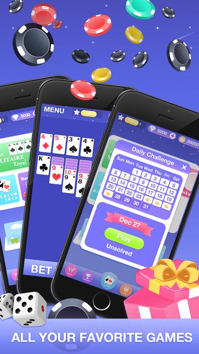 Screenshot 4 Solitaire Simple-Vegas Fun