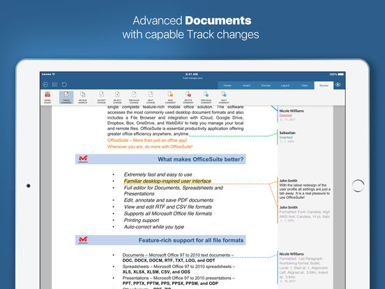 OfficeSuite Pro (Mobile Office) Screenshots