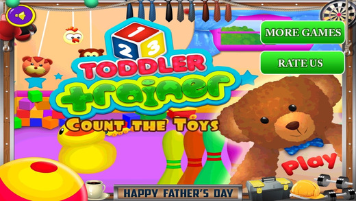 Toddler Trainer - Count the Toys Pro Screenshots