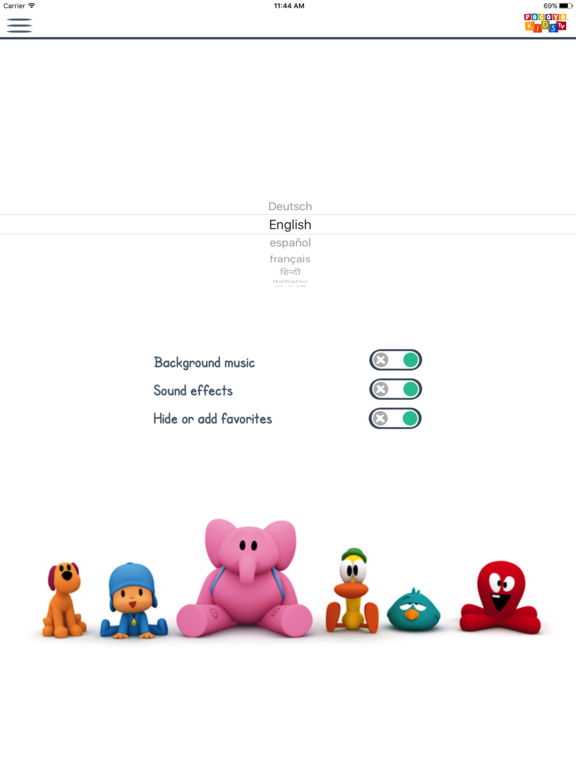 Pocoyo Kids TV Screenshots