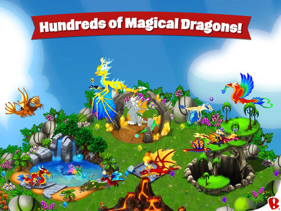 Screenshots of DragonVale for iPad