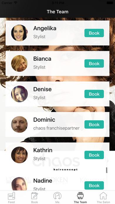 Chaos Hairconcept screenshot