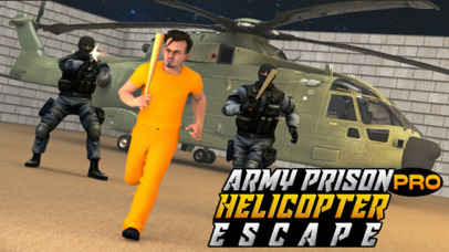 Army Prison Helicopter Escape Pro screenshot 1