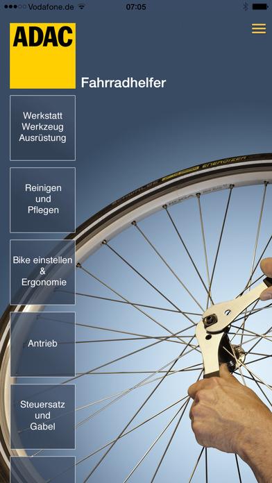 ADAC Fahrradhelfer – Reparaturanleitungen Fahrrad Screenshots