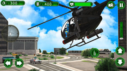 Super Helicopter Robot Hero screenshot 4
