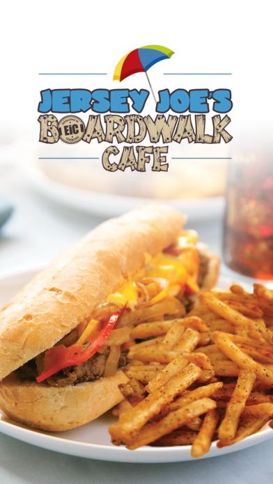 Jersey Joe S Boardwalk Cafe Menu