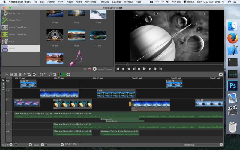 Скачать video editor robot бесплатно