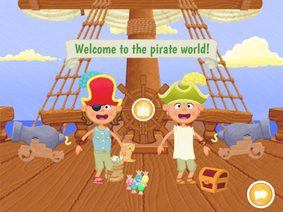 My Storybook Pirate: Interactive Book Creator Screenshots