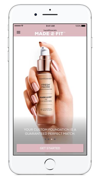 bareMinerals MADE-2-FIT Foundation makeup match screenshot 5
