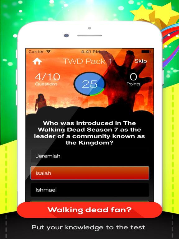 TWD Trivia Pro - For The Walking Dead Fans Screenshots