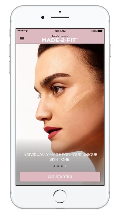bareMinerals MADE-2-FIT Foundation makeup match screenshot 3