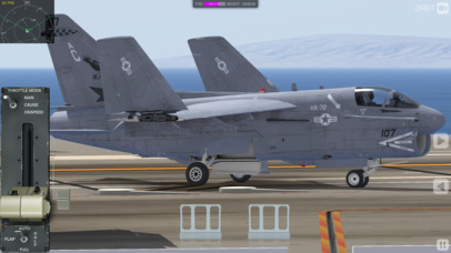 F35 Carrier Landing HD screenshot 4