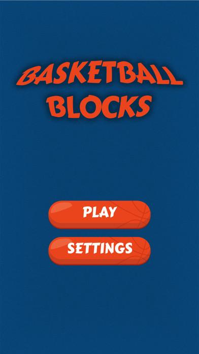 Screenshot 1 篮球撞砖块