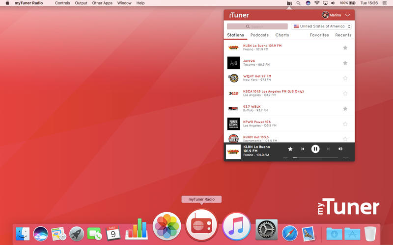 myTuner Radio update for Mac: Listen to 40000 radio stations on your Mac Image